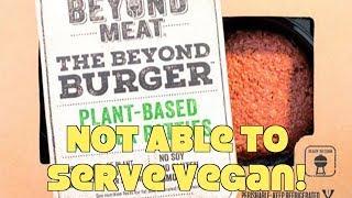 Restaurant Refuses To Serve Vegan Burger w/o Dairy! WTF?