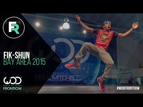 Fik-Shun | FRONTROW | World of Dance Bay Area 2015...
