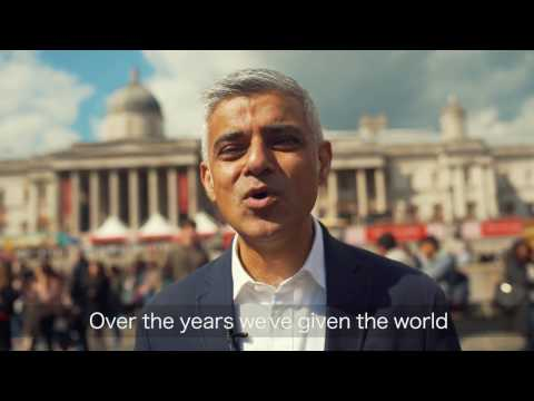 St George's Day message from the Mayor of London
