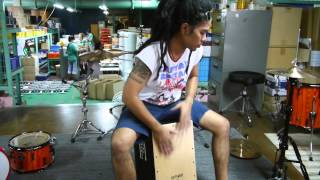 RhythmBox by CMC - Tunable Cajon System - Quick Reviews