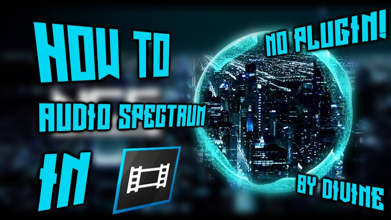 How To Make A Custom Audio Spectrum In Sony Vegas Pro 13 Without Adobe Ae ( No Plugin Required)