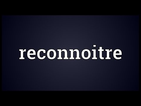 Header of reconnoitre