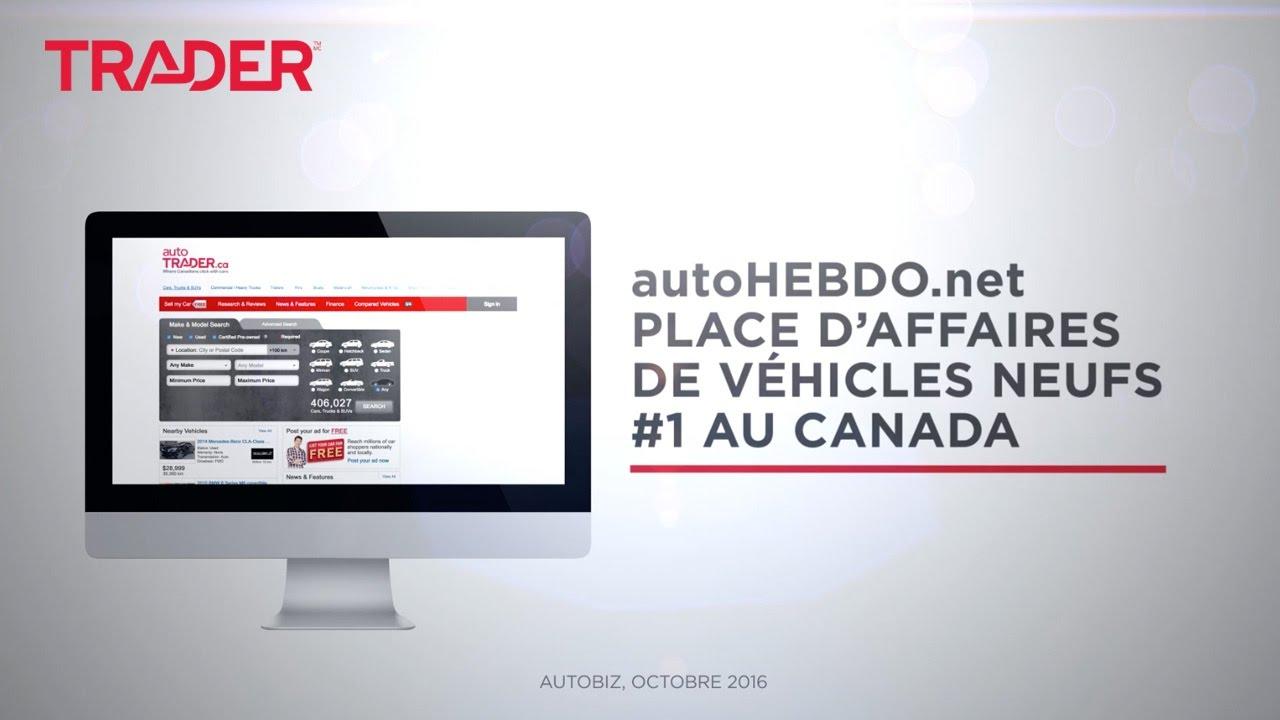 Annonces de véhicules neufs autoHEBDO.net - YouTube