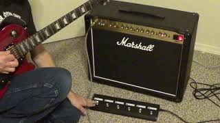 Marshall PEDL-91016 Footswitch Demo for DSL40CR and DLS100HR