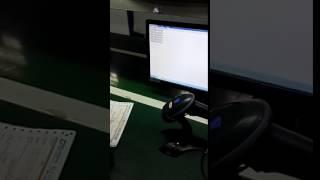 BATON A-1808 Handsfree bar code scanning scanners