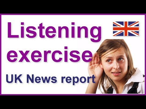 English listening exercise - Legal highs news report