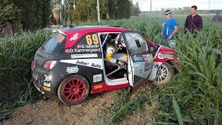 Ypres Rally 2017 Flat out ,  Crashes