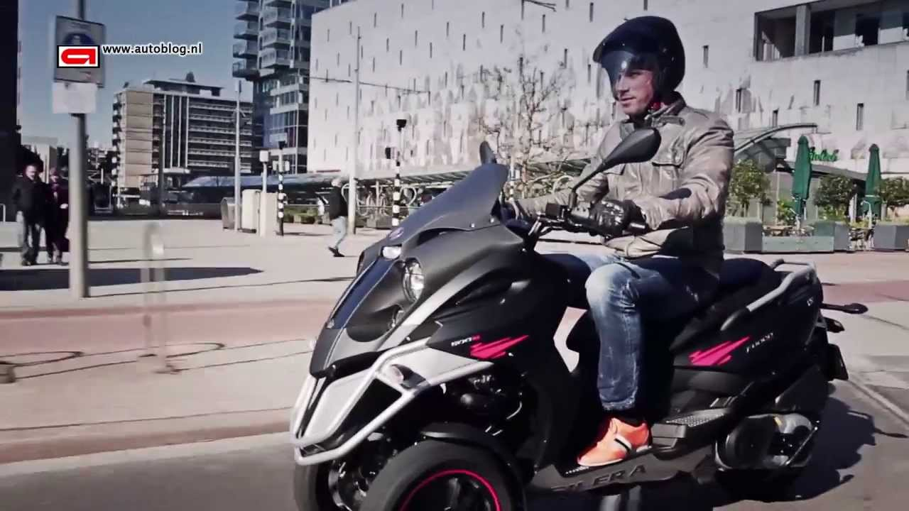 Three Wheeled Scooter >> Gilera Fuoco 500 LT (2013) - YouTube