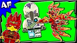 Lego Chima Flinx's ULTIMATE PHOENIX 70221 Stop Motion Build Review