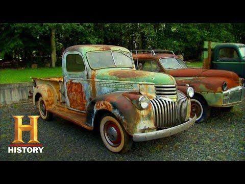 American Pickers: Huge Lot Of Vintage Trucks (Season 7) | History