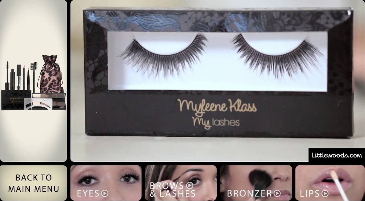 Myleene Klass Beauty And Hair Tutorial Youtube