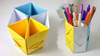 Kağıttan Kolay  Kalemlik Yapımı | Okula Dönüş