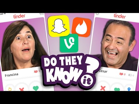 DO PARENTS KNOW SOCIAL MEDIA APPS? (REACT: Do They Know It?)