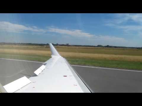 CRJ-900 Landing in Lille - [ France ]