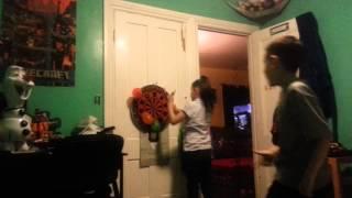 Carnival Games at Home (balloon darts)