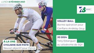 7/8 Sports. Emission du 8 février 2021