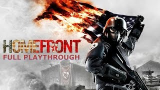 Homefront - Full Playthrough - No Commentary/Uncut (HD PC Gameplay)