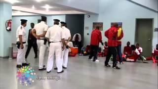 دوت مصر  لاعبو سانجا يرفضون دخول غرف الملابس خوفا من السحر