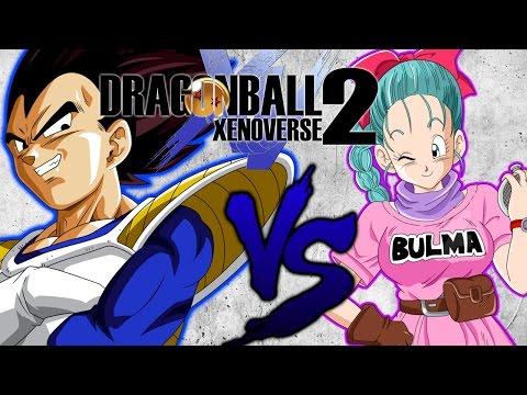 The D And P Clash!!! Vegeta Vs Bulma Dragonball Xenoverse 2