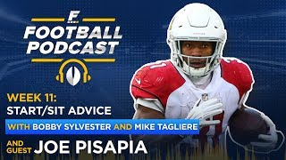 Fantasy Football Week 11: Start/Sit Advice + Sleepers
