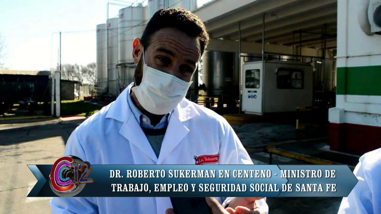 ROBERTO SUKERMAN/MINISTRO DE TRABAJO EN ABUT SA Y LA TARANTELA