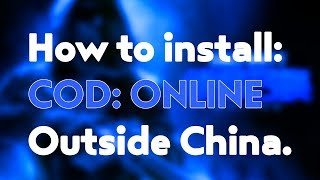 How to install COD: ONLINE *2018*