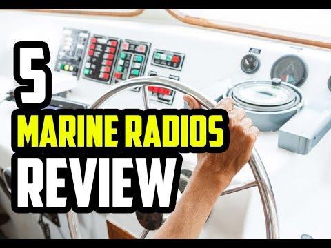 5 Best Marine Radios 2018 - 2019 | Reviews & Buyer's Guide