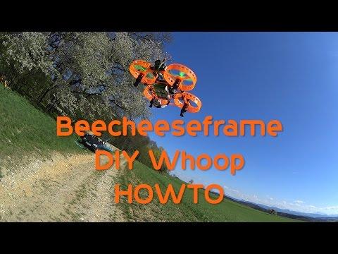 DIY Whoop - Beecheeseframe - Build - PID - TX03 OSD mod - test