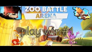 zooba game play mobile battle royale game win play #1 #zoobagame
