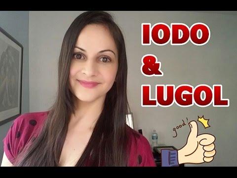 IODO: benefícios, contra-indicações, tireoide, LUGOL, como usar, etc.