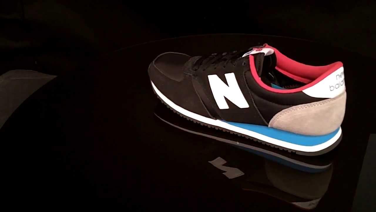 New Balance U420 Sneaker KBR Black Blue - YouTube