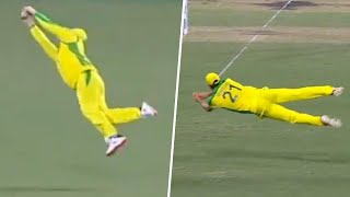 Smith, Henriques take screamers at mid wicket | Dettol ODI Series 2020