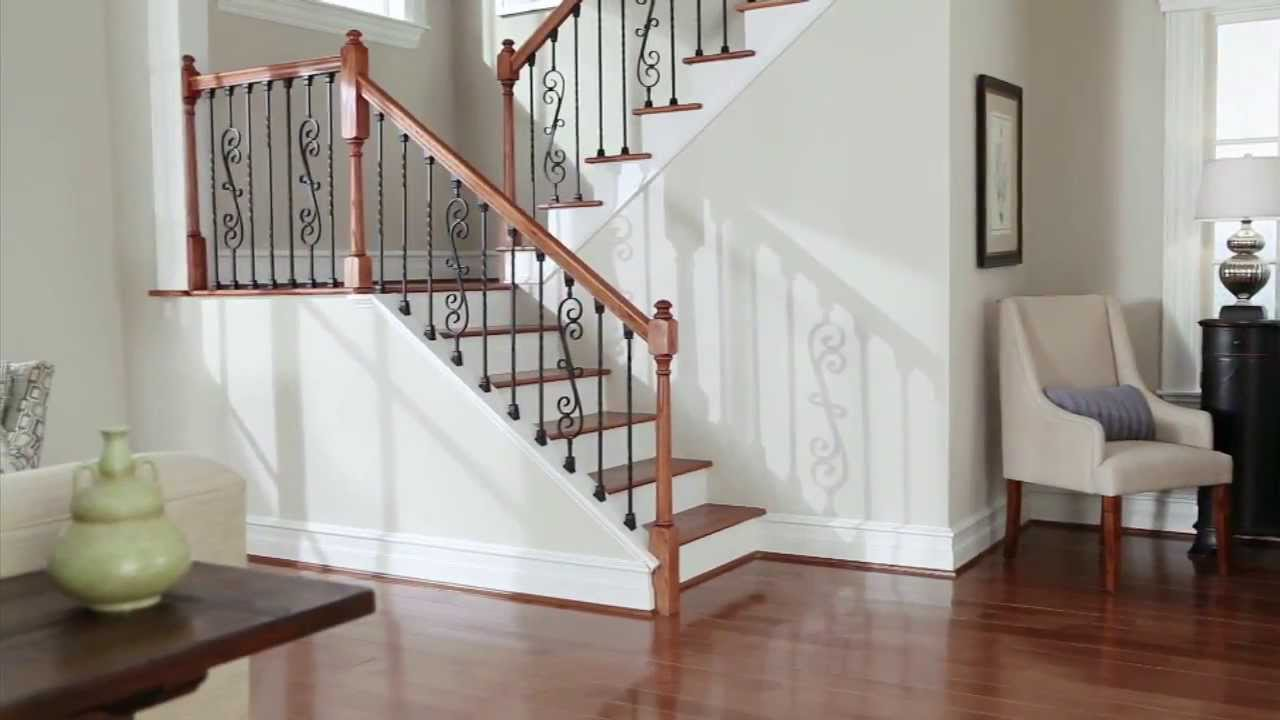 Stair Renovation Solutions Srs Knee Wall Installation Youtube