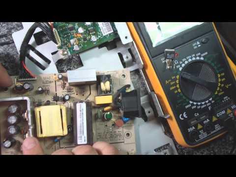 видео: Не стандартный ремонт монитора