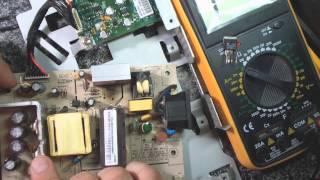 Не стандартный ремонт монитора