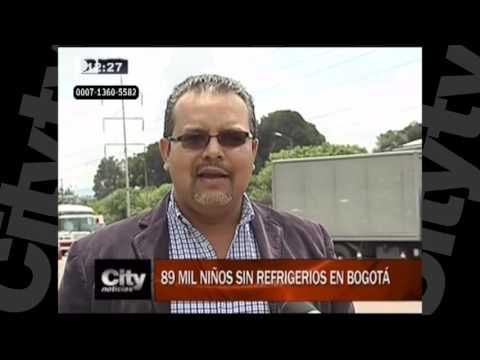 89 mil niños sin refrigerios en Bogotá | Citytv | Abril 15
