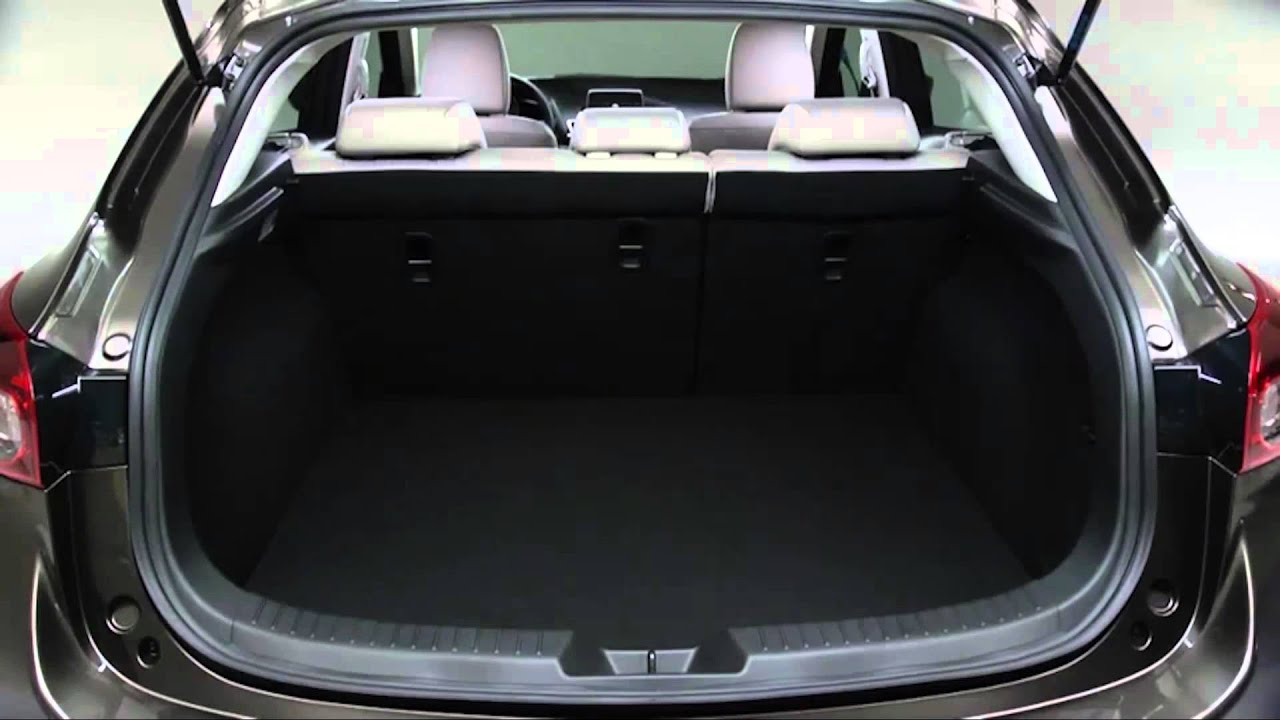 How to use the rear fold down seats in the 2015 Mazda3