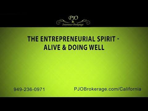 The Entrepreneurial Spirit – Alive & Doing Well | PJO Insurance Brokerage
