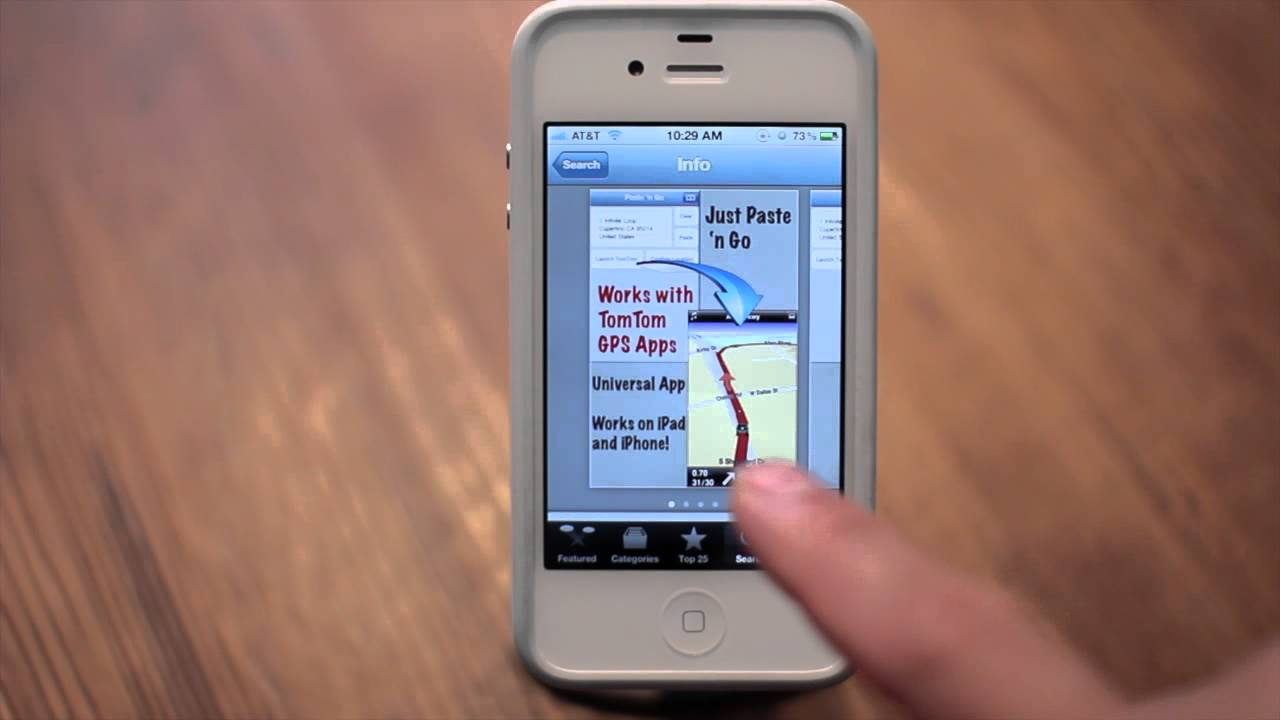 how to use siri with tomtom gps iphone 4s app youtube. Black Bedroom Furniture Sets. Home Design Ideas