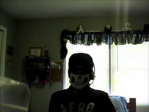 Homemade Modern Warfare 2 Ghost mask
