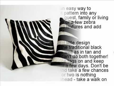 5 Ways To Decorate With Zebra Print Did You Know This?