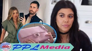 Kourtney and Sofia Richie were chaotic when Kourt see Sofia was given Valentine gifts by Scott