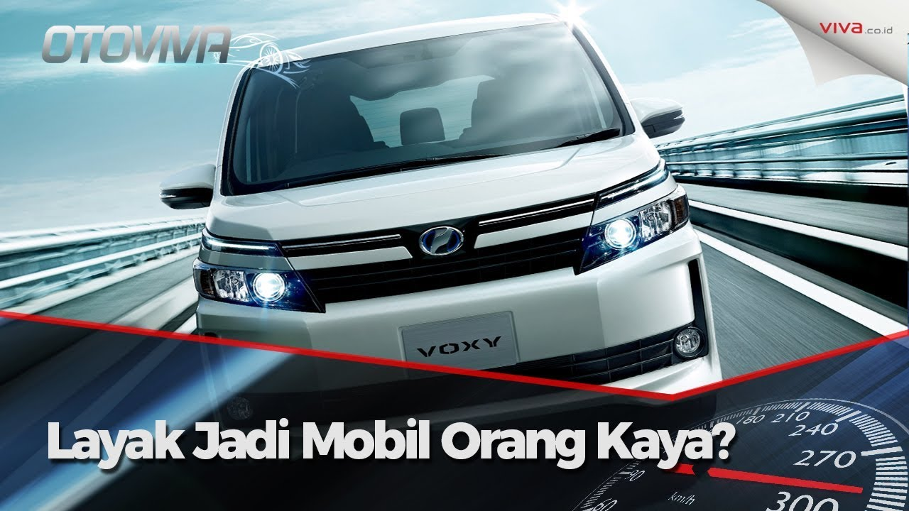 Buka Bukaan Toyota Voxy Alphard Versi Murah YouTube