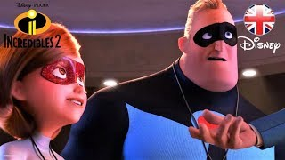 INCREDIBLES 2 | NEW UK TRAILER | Official Disney Pixar UK