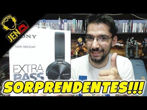 Auriculares Económicos Muy Buenos - Sony MDR-XB450AP