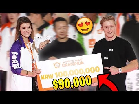 Tfue & KittyPlays WON The Korean Open Duo Tournament! *$90,000* | Fortnite Highlights