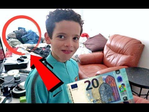 BROERTJE €20,- GEVEN VOOR MIJN KAMER OPRUIMEN! - YOUSTOUB VLOG - #724
