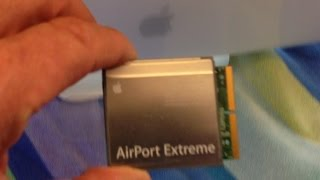 iMac G5 Airport Extreme WIFI Card Install