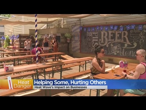 Downtown Sacramento Businesses Ebb And Flow During Heat Wave