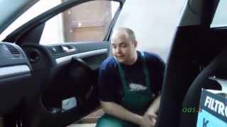 видео Замена салонного фильтра (фильтра печки) ВАЗ 2115 (2113, 2114)